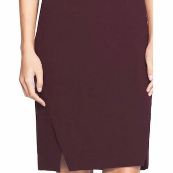 White House Black Market Dresses & Skirts - White House Black Market Black Cherry Pencil skirt